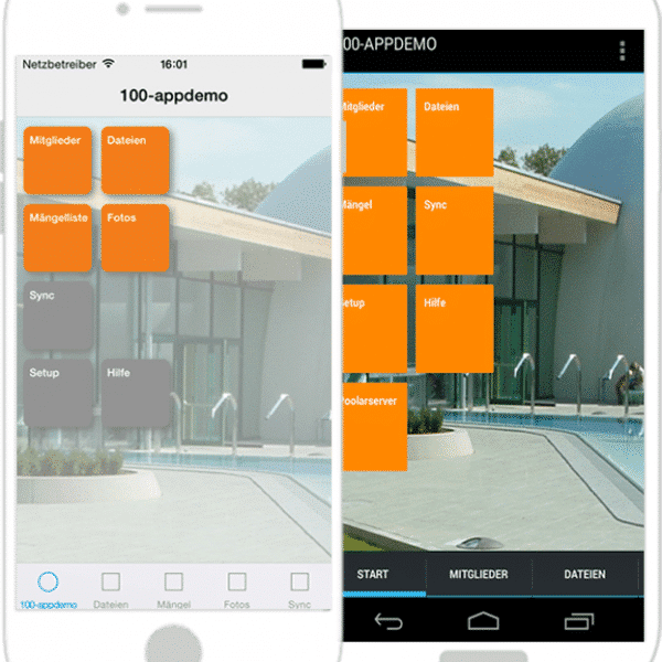 Unsere Smartphone-App: poolarPROJECT
