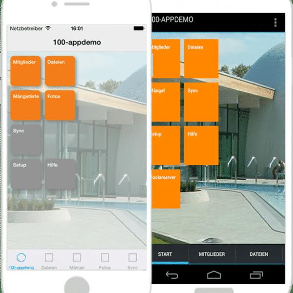 Unsere Smartphone-App: poolarPROJECT